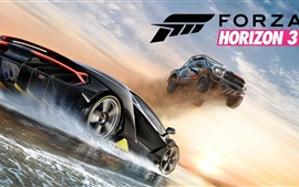 Preview wallpaper Forza Horizon 3, crazy racing