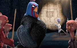 Preview wallpaper Free Birds, cartoon movie
