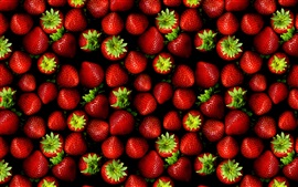 Preview wallpaper Fresh strawberries, juicy fruits