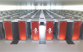 Preview wallpaper Fujitsu K Computer, supercomputer