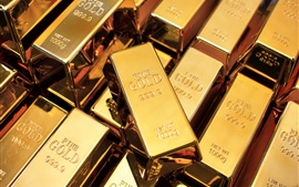 Preview wallpaper High purity gold bullion