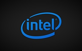Preview wallpaper Intel logo, CPU corporation