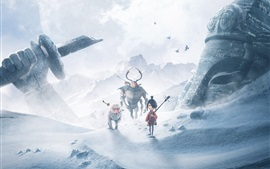 Preview wallpaper Kubo and the Two Strings, cartoon movie 2016