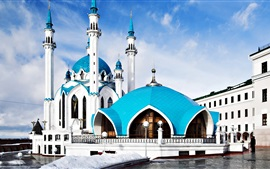 Preview wallpaper Kul Sharif Mosque in Kazan, Russia