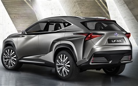 Preview wallpaper Lexus NF-NX SUV car rear view