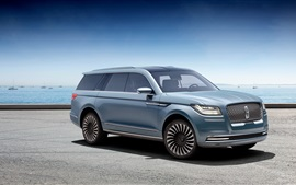 Preview wallpaper Lincoln Navigator concept car