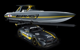 Preview wallpaper Mercedes-Benz AMG GT3 C190 supercar