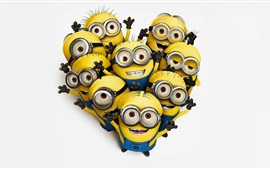 Preview wallpaper Minions cartoon movie 2015
