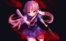 Preview wallpaper Mirai Nikki