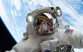 Preview wallpaper NASA astronaut in the space