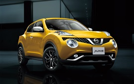 Preview wallpaper Nissan Juke yellow car