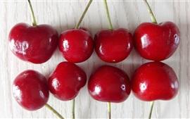 frutas ricas em nutrientes, cerejas