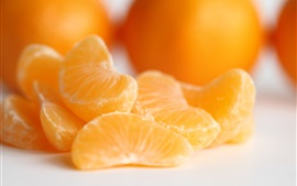 Preview wallpaper Oranges, fruit macro photography