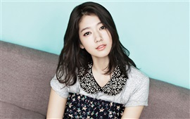 Preview wallpaper Park Shin Hye 01