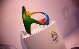 Preview wallpaper Rio 2016 Olympics logo