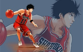 Preview wallpaper Rukawa Kaede, Slam Dunk