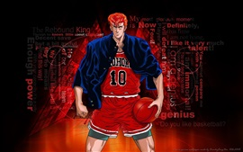 Preview wallpaper Sakuragi Hanamichi, Slam Dunk
