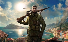 Preview wallpaper Sniper Elite 4, Xbox game