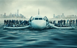 Preview wallpaper Sully 2016 movie