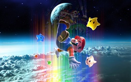 Preview wallpaper Super Mario, classic game, Nintendo