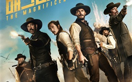 Preview wallpaper The Magnificent Seven 2016