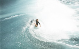 Preview wallpaper The Shallows, Blake Lively, Nancy, sea surfer, 2016 movie