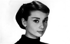 Aperçu fond d'écran Audrey Hepburn 01