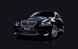 Preview wallpaper BMW M3 Coupe Special Edition black car