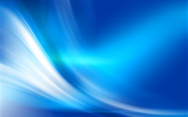 Blue curves, abstract background