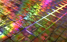 Preview wallpaper CPU chip core, circuit board
