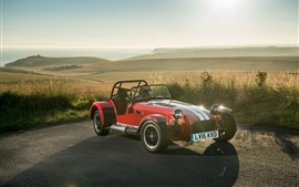 Preview wallpaper Caterham Seven 310R red sport car