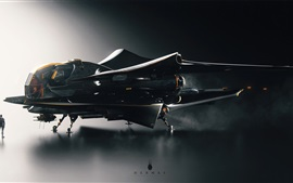 Future airplane, creative design