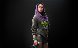 Preview wallpaper Girl in Watch Dogs 2