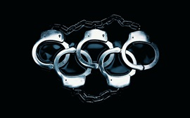 Preview wallpaper Handcuffs like olympic five rings