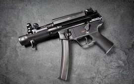 Preview wallpaper Heckler Koch MP5, modern firearms, guns