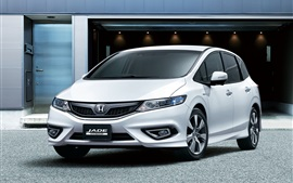 Preview wallpaper Honda Jade Hybrid car front view