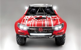 Honda Ridgeline Baja Truck Race vue de face