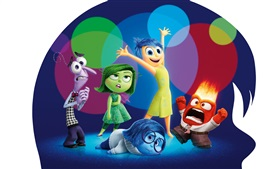 Preview wallpaper Inside Out, cartoon movie 2015