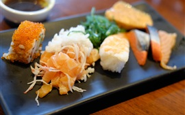 Preview wallpaper Japanese cuisine, sushi