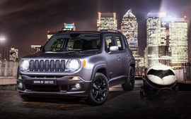 Preview wallpaper Jeep Renegade, Dawn of Justice