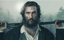 Preview wallpaper Matthew Mcconaughey, Free State of Jones 2016