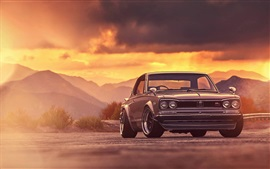 Preview wallpaper Nissan Skyline 2000 GTX classic car