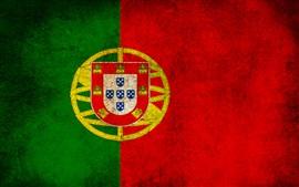壁紙のプレビュー ポルトガルの旗