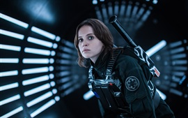 Preview wallpaper Rogue One: A Star Wars Story, Felicity Jones