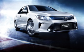 Preview wallpaper Toyota Camry 10th anniversary car speed