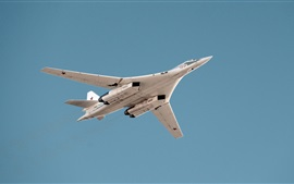 Preview wallpaper Tu-160 supersonic strategic bomber