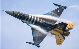 Preview wallpaper Turkish air force fighter