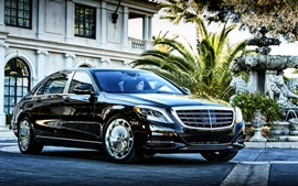 2017 Mercedes-S600 sedán Maybach