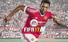 Preview wallpaper Anthony Martial, FIFA 17