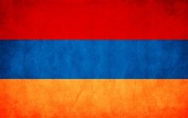 Aperçu fond d'écran drapeau Arménie